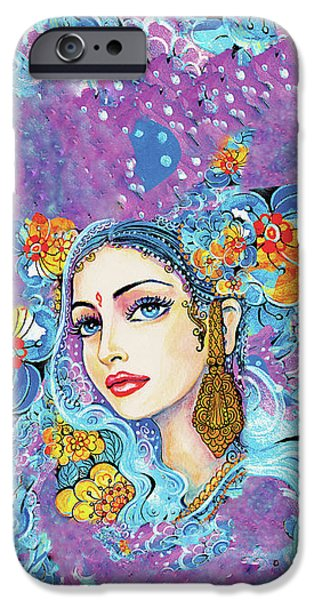 IPhone 6s Case featuring the painting The Veil Of Aish by Eva Campbell