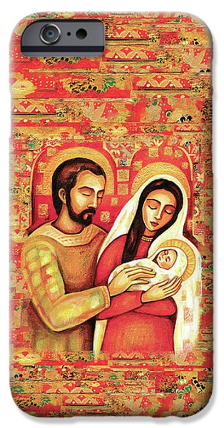 IPhone 6s Case featuring the painting Holy Family by Eva Campbell