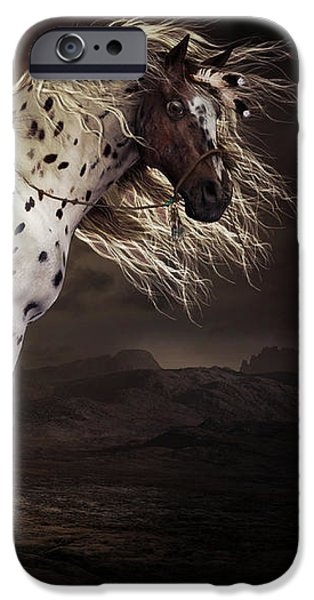 Horse iPhone 6s Case - Leopard Appalossa by Shanina Conway