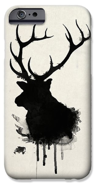Animals iPhone 6s Case - Elk by Nicklas Gustafsson