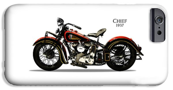 Indian Chief 1937 IPhone 6s Case by Mark Rogan