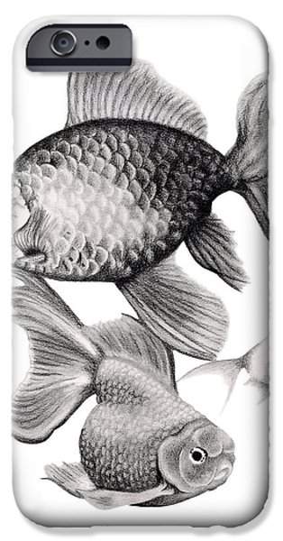 Contemporary Realism iPhone 6s Case - Goldfish by Sarah Batalka