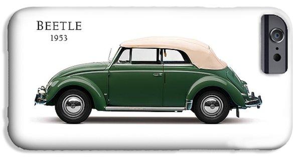 Beetle iPhone 6s Case - Vw Beetle 1953 by Mark Rogan