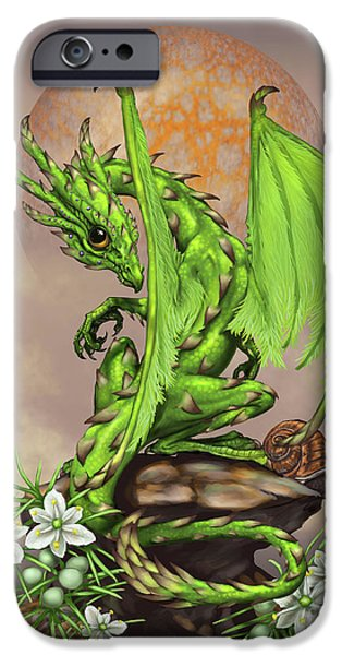 Asparagus Dragon IPhone 6s Case by Stanley Morrison