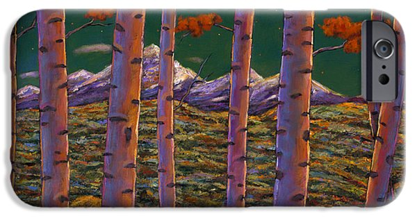 Contemporary Realism iPhone 6s Case - Aspen At Night by Johnathan Harris