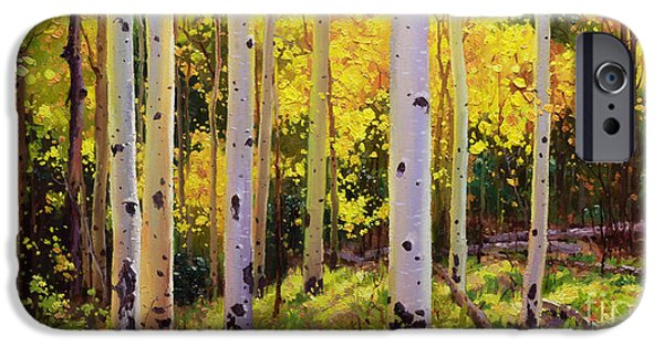 Contemporary Realism iPhone 6s Case - Aspen Symphony by Gary Kim