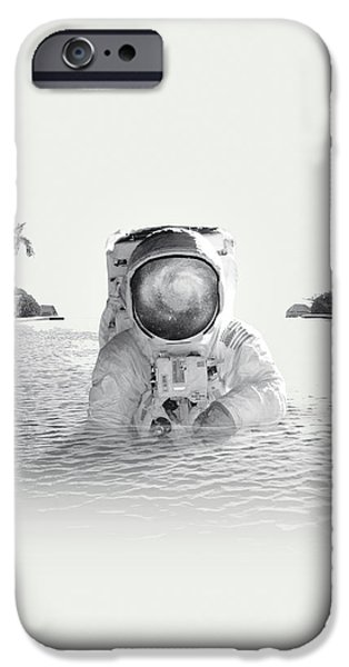 Space iPhone 6s Case - Astronaut by Fran Rodriguez