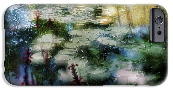 IPhone 6s Case featuring the photograph At Claude Monet's Water Garden 2 by Dubi Roman