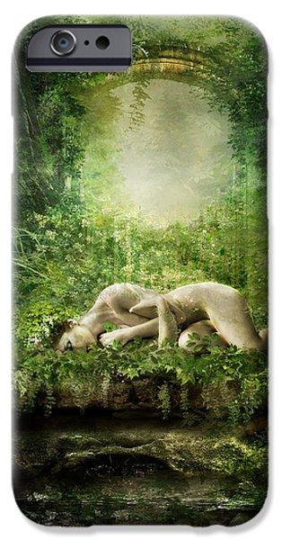 Elf iPhone 6s Case - At Sleep by Karen Koski