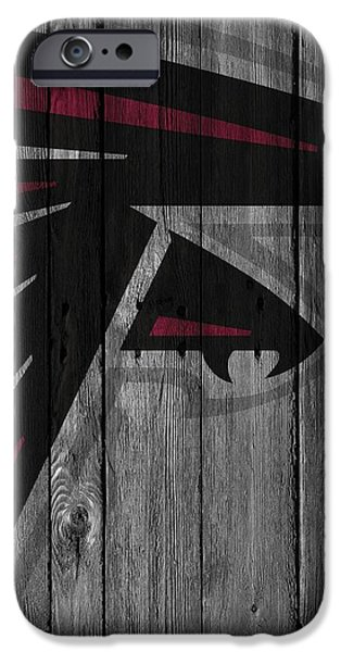 Atlanta Falcons Wood Fence IPhone 6s Case
