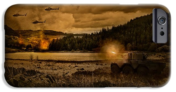 Attack At Nightfall IPhone 6s Case by Amanda Elwell