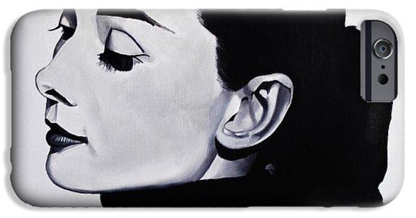 Audrey Hepburn 1 IPhone 6s Case by Brian Broadway