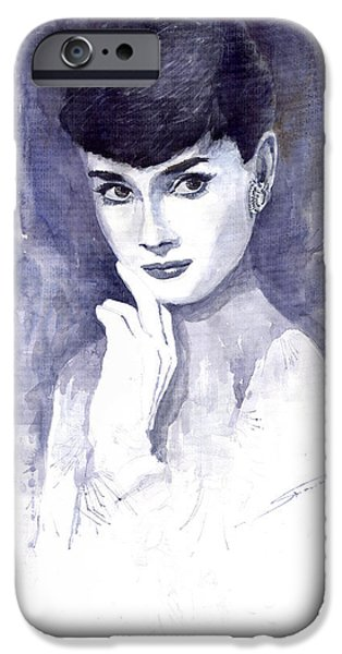 Audrey Hepburn  IPhone 6s Case by Yuriy  Shevchuk