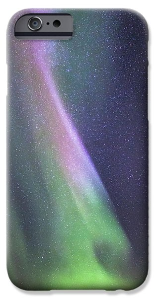 IPhone 6s Case featuring the photograph Aurora Abstract by Hitendra SINKAR