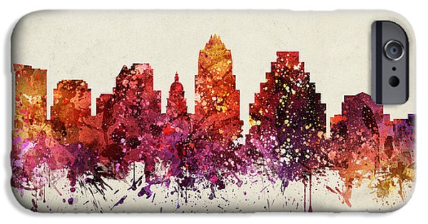 Austin Cityscape 09 IPhone 6s Case by Aged Pixel