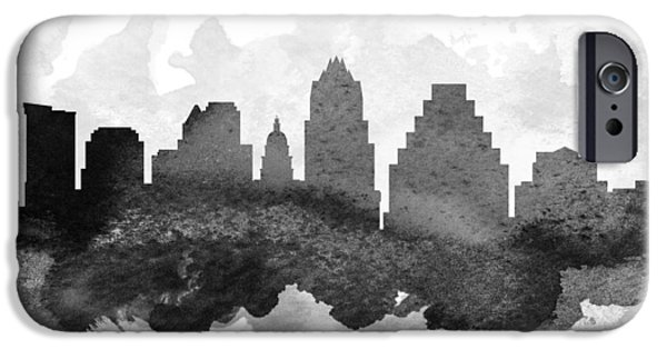 Austin Skyline iPhone 6s Case - Austin Cityscape 11 by Aged Pixel