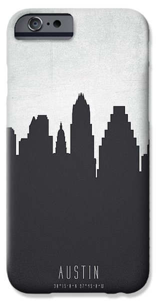 Austin Texas Cityscape 19 IPhone 6s Case by Aged Pixel