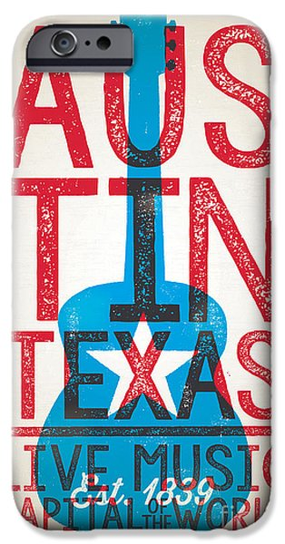 Austin Texas - Live Music IPhone 6s Case