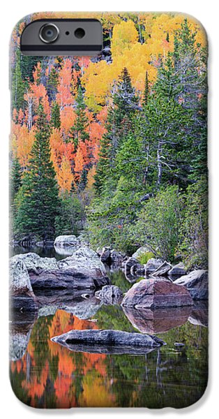 Autumn At Bear Lake IPhone 6s Case by David Chandler