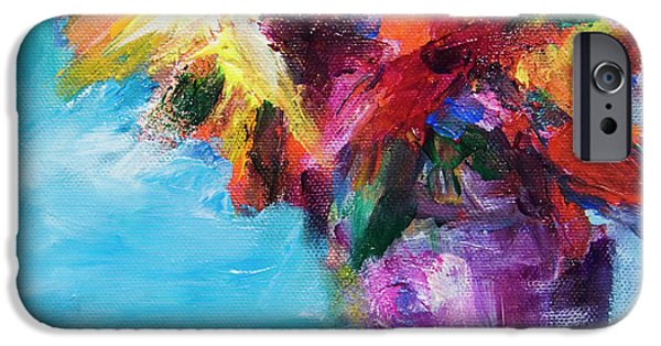 Colorful Flowers  IPhone 6s Case by Yulia Kazansky