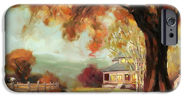 Geese iPhone 6s Case - Autumn Dreams by Steve Henderson