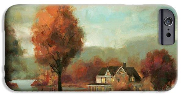 Geese iPhone 6s Case - Autumn Memories by Steve Henderson