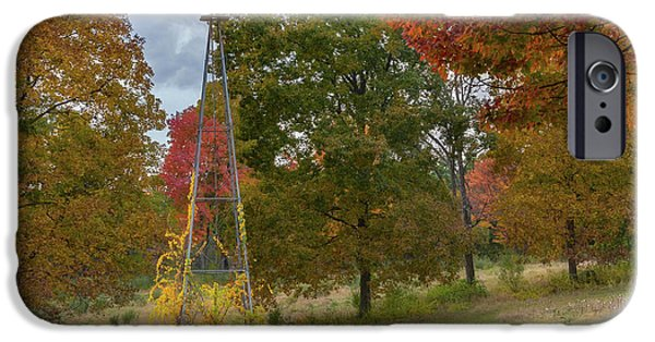 IPhone 6s Case featuring the photograph Autumn Windmill Square by Bill Wakeley