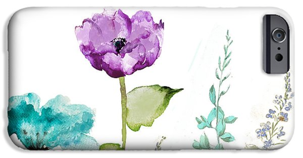 Flowers iPhone 6s Case - Avril  by Mindy Sommers