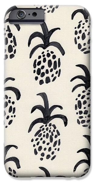 B And W Pineapple Print IPhone 6s Case by Anne Seay