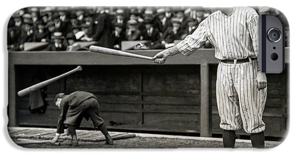 Babe Ruth At Bat IPhone 6s Case