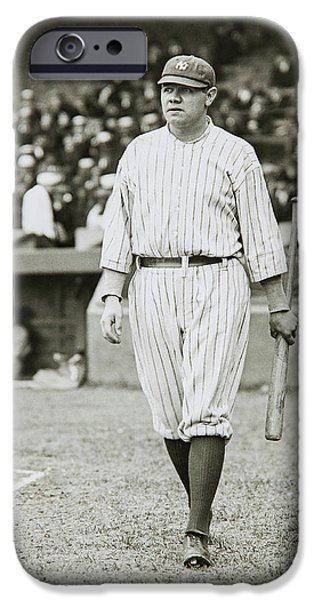 Babe Ruth Going To Bat IPhone 6s Case