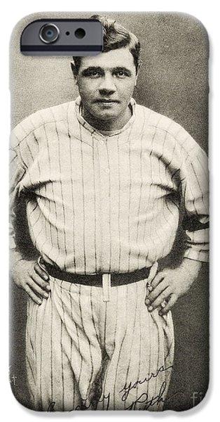Babe Ruth Portrait IPhone 6s Case