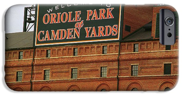 Oriole iPhone 6s Case - Baltimore Orioles Park At Camden Yards by Frank Romeo