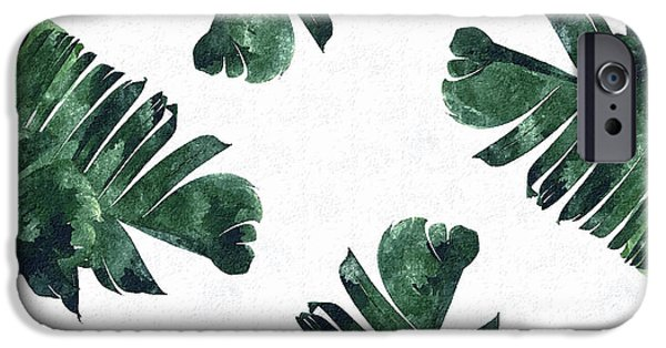 Banan Leaf Watercolor IPhone 6s Case by Uma Gokhale