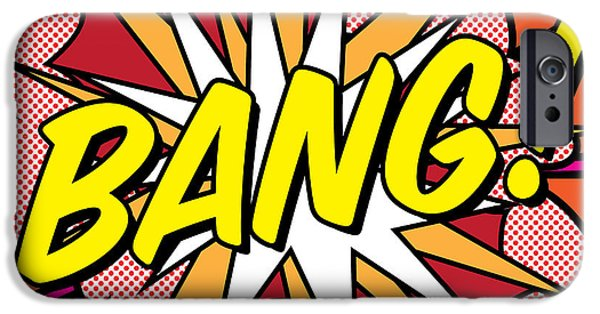 Bang IPhone 6s Case by Gary Grayson