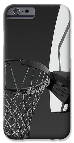 Basketball iPhone 6s Case - Basketball Court by Richard Rizzo