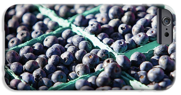 Blue Berry iPhone 6s Case - Baskets Of Blueberries by Todd Klassy