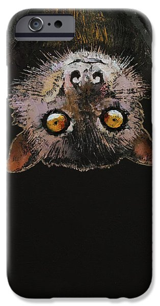 Bat IPhone 6s Case by Michael Creese