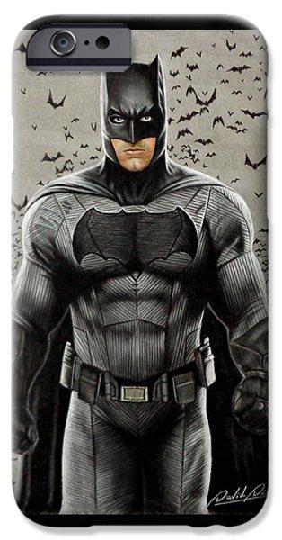 Batman Ben Affleck IPhone 6s Case by David Dias
