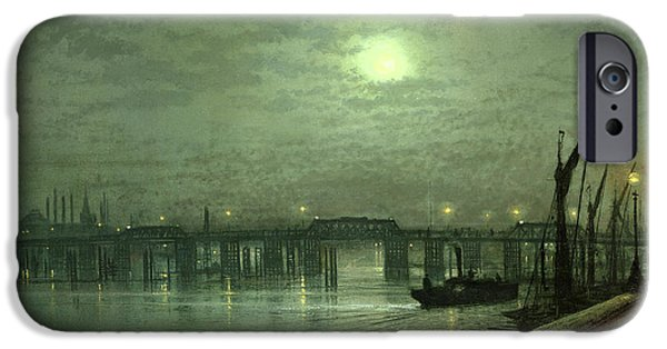 Battersea Bridge By Moonlight IPhone 6s Case by John Atkinson Grimshaw