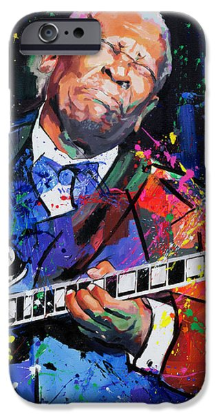 Contemporary Realism iPhone 6s Case - Bb King Portrait by Richard Day