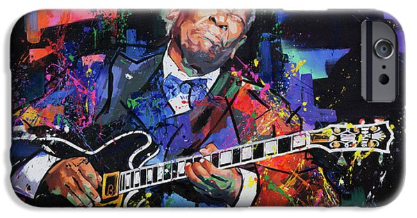 Contemporary Realism iPhone 6s Case - Bb King by Richard Day