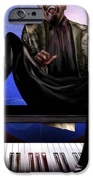 Be Good To Ya - Ray Charles IPhone Case by Reggie Duffie