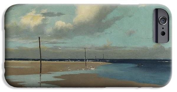 Beach At Low Tide IPhone 6s Case by Frederick Milner