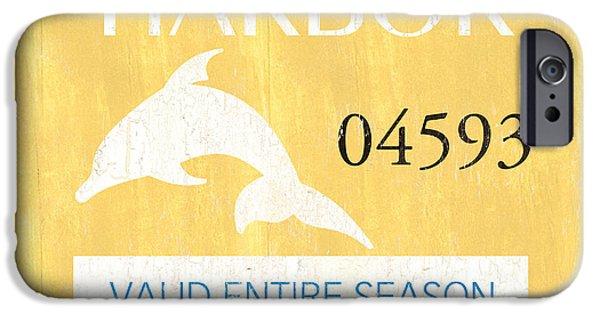 Dolphin iPhone 6s Case - Beach Badge Stone Harbor by Debbie DeWitt