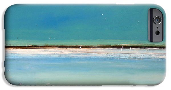Landscape iPhone 6s Case - Beach Textures by Toni Grote