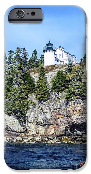 Bear Island Lighthouse IPhone 6s Case by Anthony Baatz