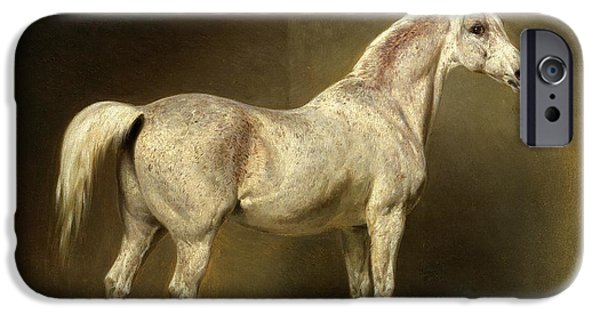 Horse iPhone 6s Case - Beatrice by Carl Constantin Steffeck