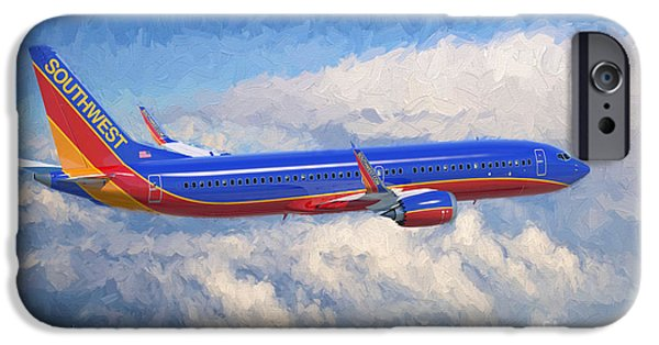 Airplane iPhone 6s Case - Beauty In Flight by Garland Johnson