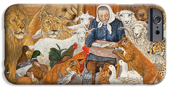 Bedtime Story On The Ark IPhone 6s Case by Ditz